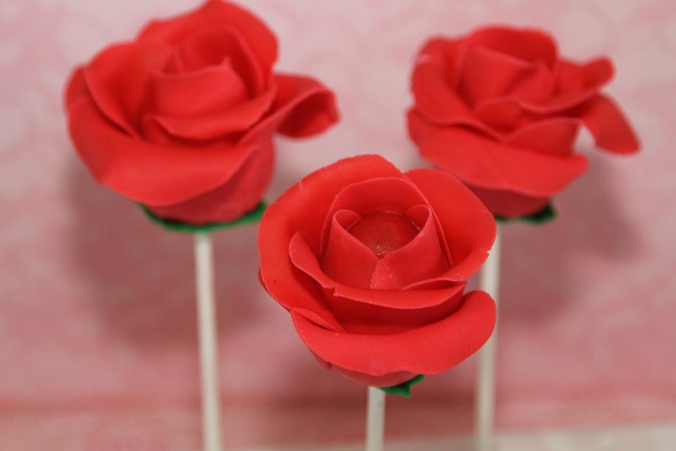 Free Photo Roses Cake Pops Flower Free Image On