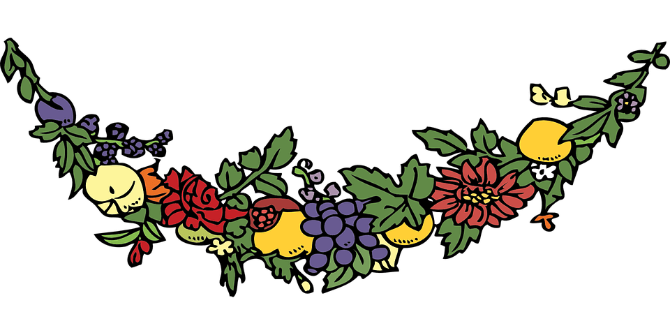 Festoon Garland Swag Free Vector Graphic On Pixabay