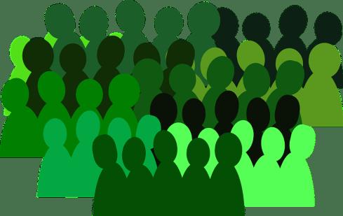 People, Group, Crowd, Team, Isolated, Teamwork