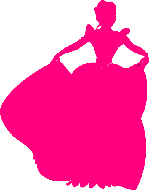 Princess Dress Gown Free Vector Graphic On Pixabay