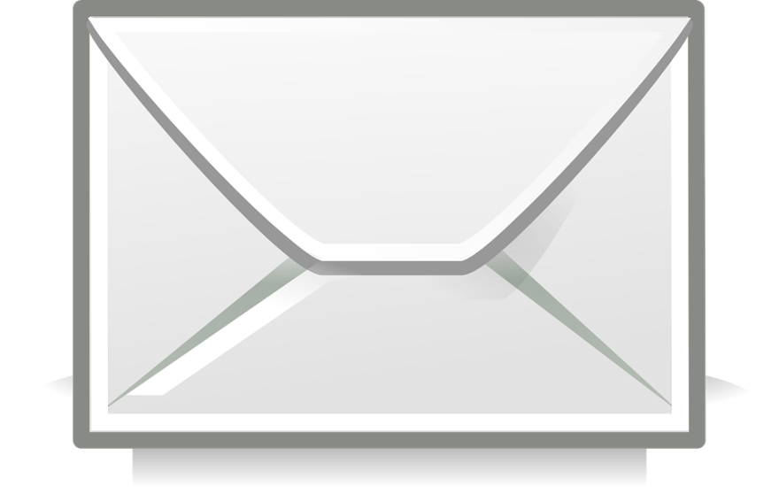 封筒, 手紙, 電子メール, 最新の返信, 投稿