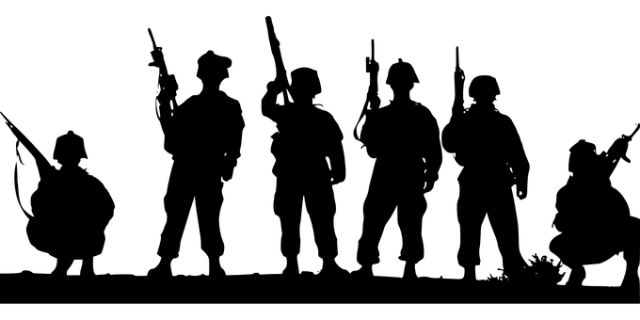 Soldiers, Military, Army, Armed, Man