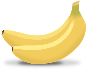 Bananas, Yellow, Tropical, Fruits, Food