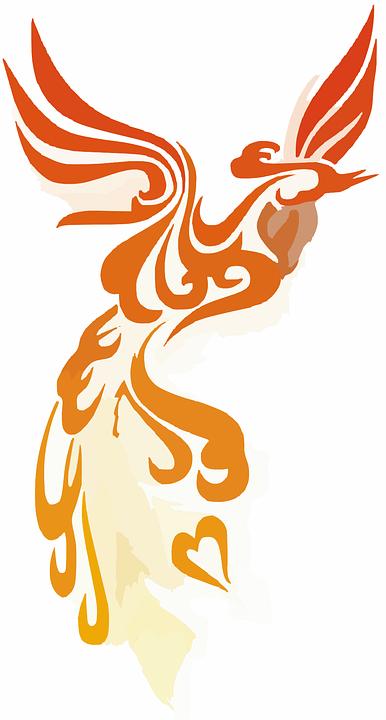 Phoenix Firebird Logo Transparent Background