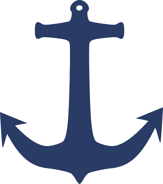 Anchor Sea Yacht Free Vector Graphic On Pixabay
