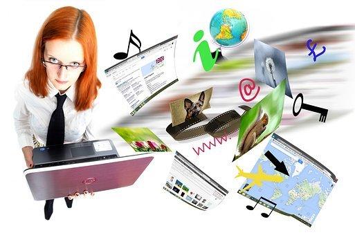 Internet, Laptop, Video, Network, Page