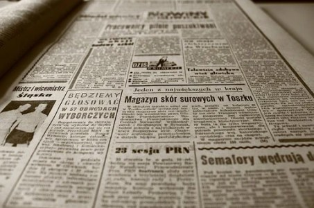 Old Newspaper, Newspaper, Retro, Sepia