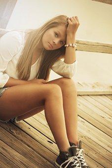Girl Teenager Young Beautiful Teen