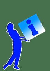 Info, Informationen, Tipps, Icon + kreditflat