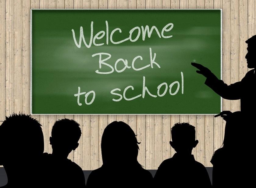 Classroom, Education, School, Leave, Slate, Board, Hand