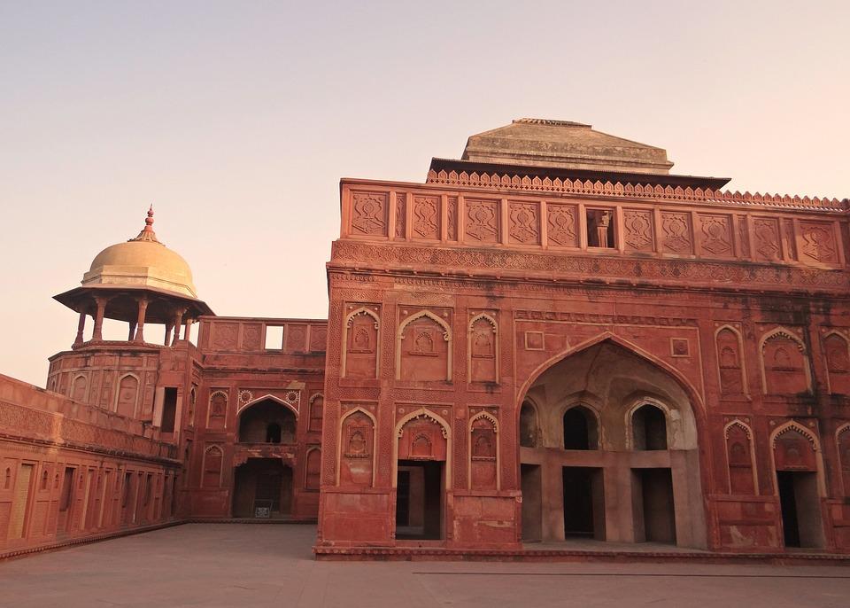 Free Photo Agra Fort Castle Palace Mughal Free Image