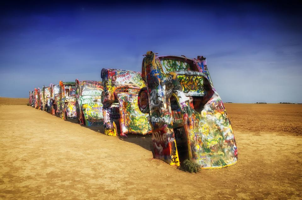 Texas Buried Cars Autos Free Photo On Pixabay
