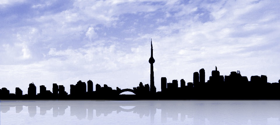 Kostenlose Illustration Toronto Skyline Kanada Gebude