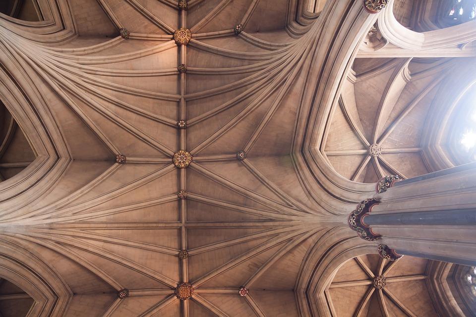 Interno cattedrale bristol