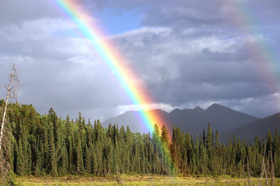 Curcubeu, Ploaie, Arc, Râul Broasca, Curcubeu De Culori