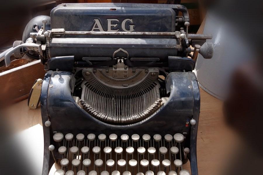 Máquina De Escribir, La Máquina De Escribir De Viaje