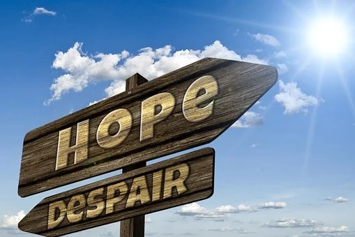 Directory, Signposts, Hope, Hopelessness
