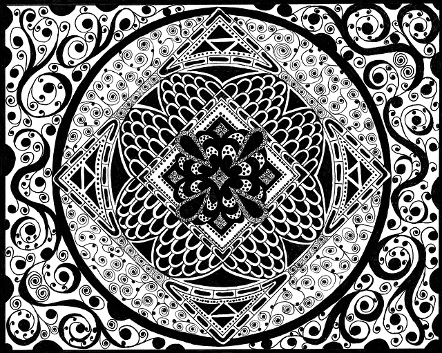 Zentangle Pictures Black And White Free Image On Pixabay