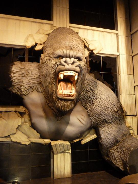 Free Photo King Kong Wax Museum Wax Figure Free Image