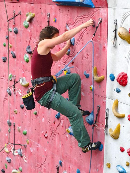 Climber Woman Arm Strength Free Photo On Pixabay