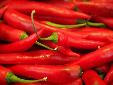 Chili Rouge Forte Épices Piments Pepperoni