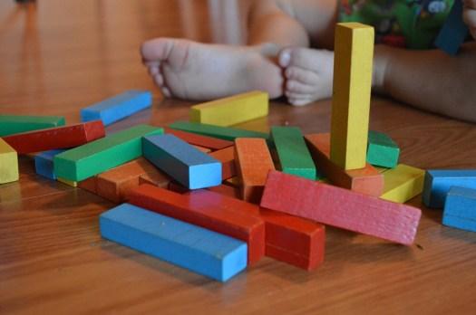 Blocs, Enfant, Jouets, L'Éducation, Jeu, L'Enfance