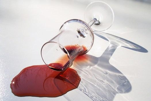 Vino Rosso, Caduta, Spot, Vetro, Rosso, Liquore, Alcol