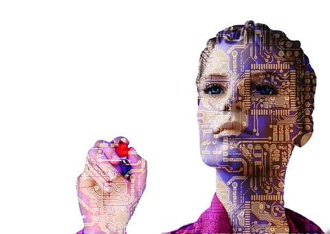 Robot, Inteligencia Artificial, Mujer