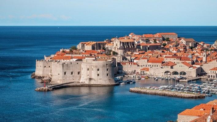 Dubrovnik, Croácia, Kings Landing, Cidade, Mar, Antigo