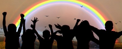 World Children'S Day, Festival, Celebrate, Rainbow