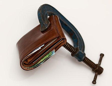 Kreditklemme Besteuerung Geldbeutel Steuer