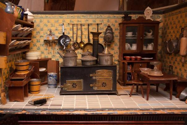 Dolls Kitchen, Toys, Old, Antique, Play, Children Toys
