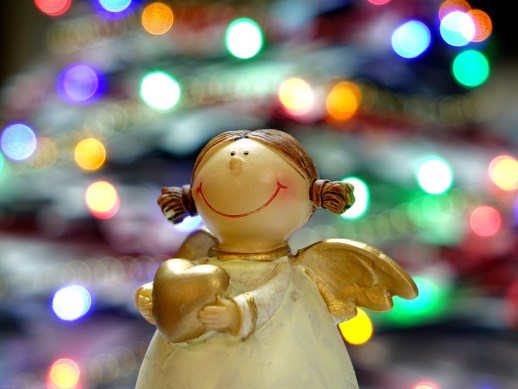 Christmas Vocabulary: Angel Figure, Learn English With Africa, December 2016