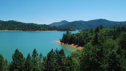 湖, シャスタ, カリフォルニア州, 水, 自然