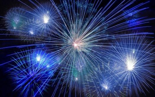 Fuochi D'Artificio, Razzo, Giorno Del Nuovo Anno