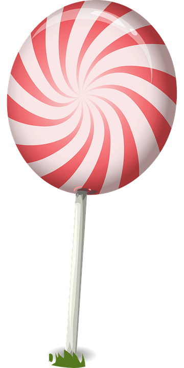 Candy Lollipop Sweets Free Vector Graphic On Pixabay