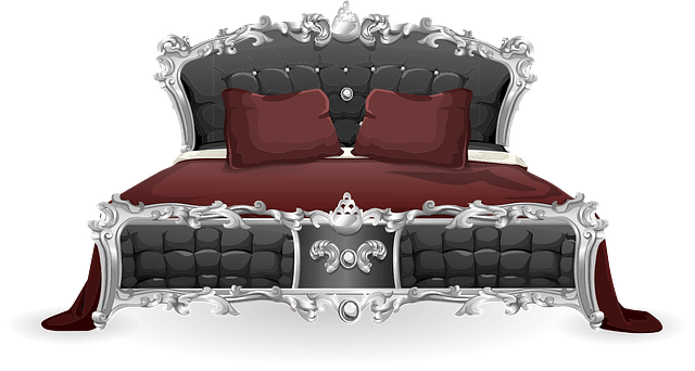 Free Vector Graphic Bed Furniture Bedroom Pillows Free Image On Pixabay 575792