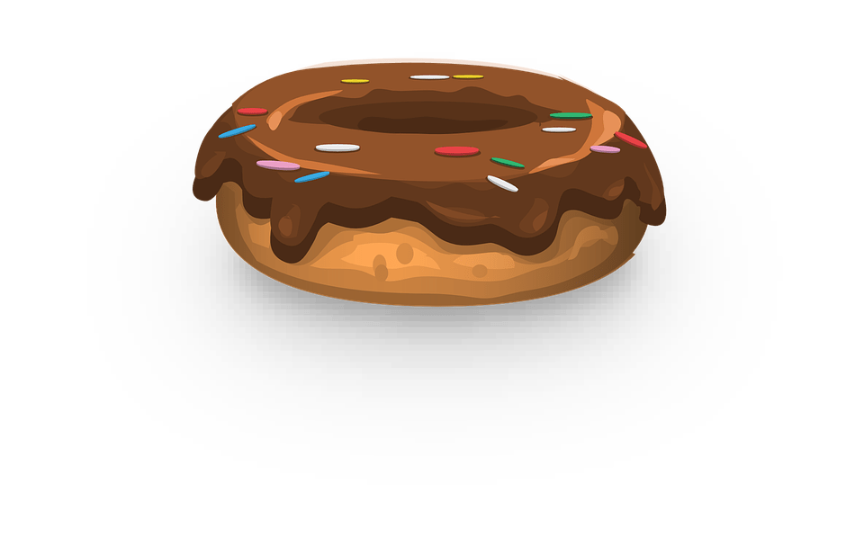 Donut Frosting Sprinkles 183 Free Vector Graphic On Pixabay