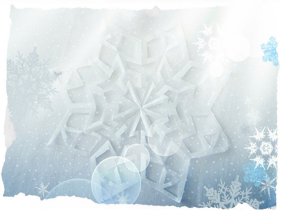 Free Illustration Winter Background New YearS Day