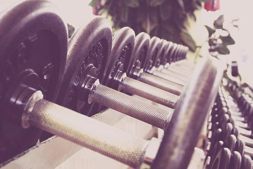Fitness, Dumbbells, Training