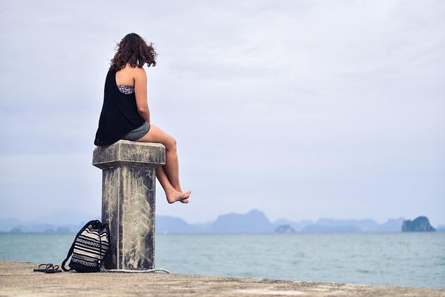 Person Women Distance Free Photo On Pixabay