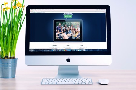 Kantoor, Bloemen, Apple, Computer, Sociale Media