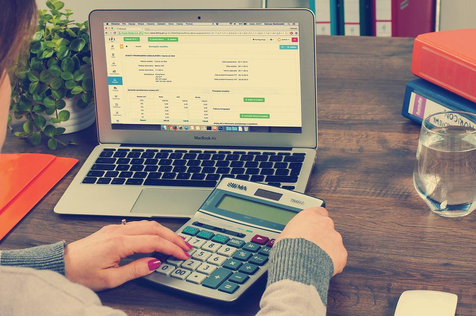 Bookkeeping, Accounting, Taxes, Settlement, Calculator