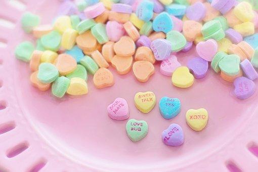 バレンタインのお菓子, 心, 会話, 甘い, 休日