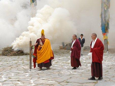Tibet, Samye Monastery, Buddhism, Tibet