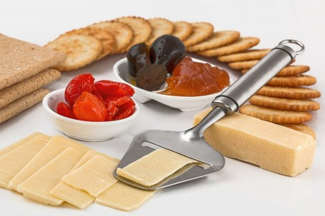 Cheese Slicer, Crackers, Appetizers, Dairy Product
