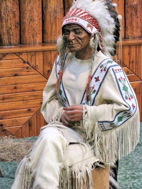 Native Indian Museum Wax Figure Free Photo On Pixabay