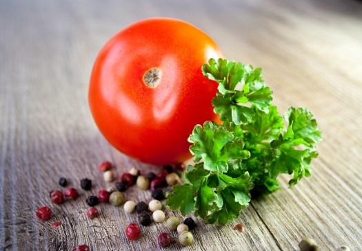 Pomodoro, Verdure, Prezzemolo, Mangiare