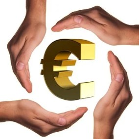 Beschermen, Handen, Euro, De Hand