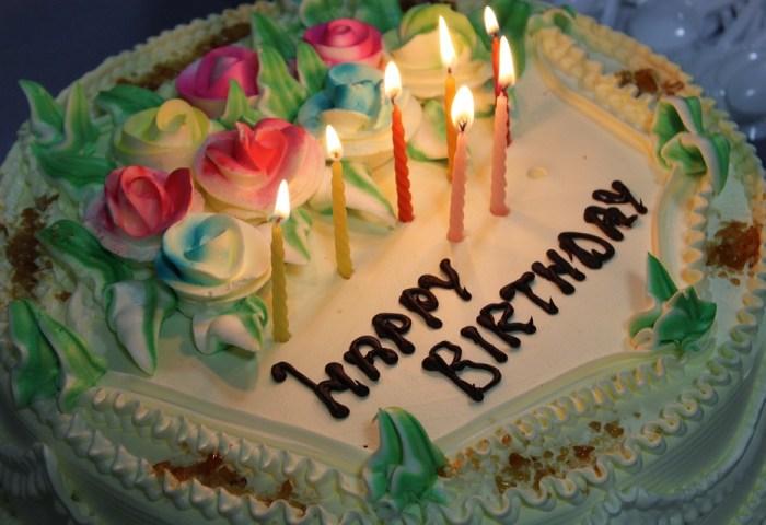 Birthday Cake Candles Free Photo On Pixabay